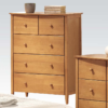 09157 chest of drawers in maple