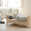 leander junior bed in white wash