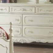 1386 double dresser in cream