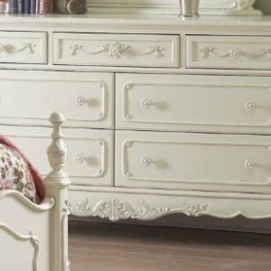 1386 double dresser in cream