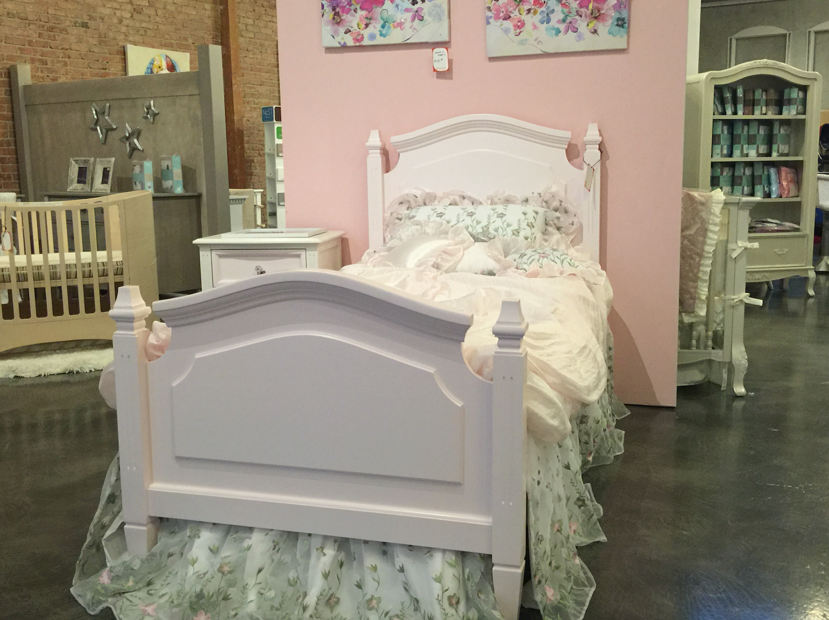 sydney twin 4 poster bed
