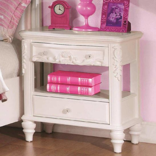 400722 nightstand in white