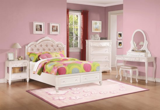 400721 tufted leather bed