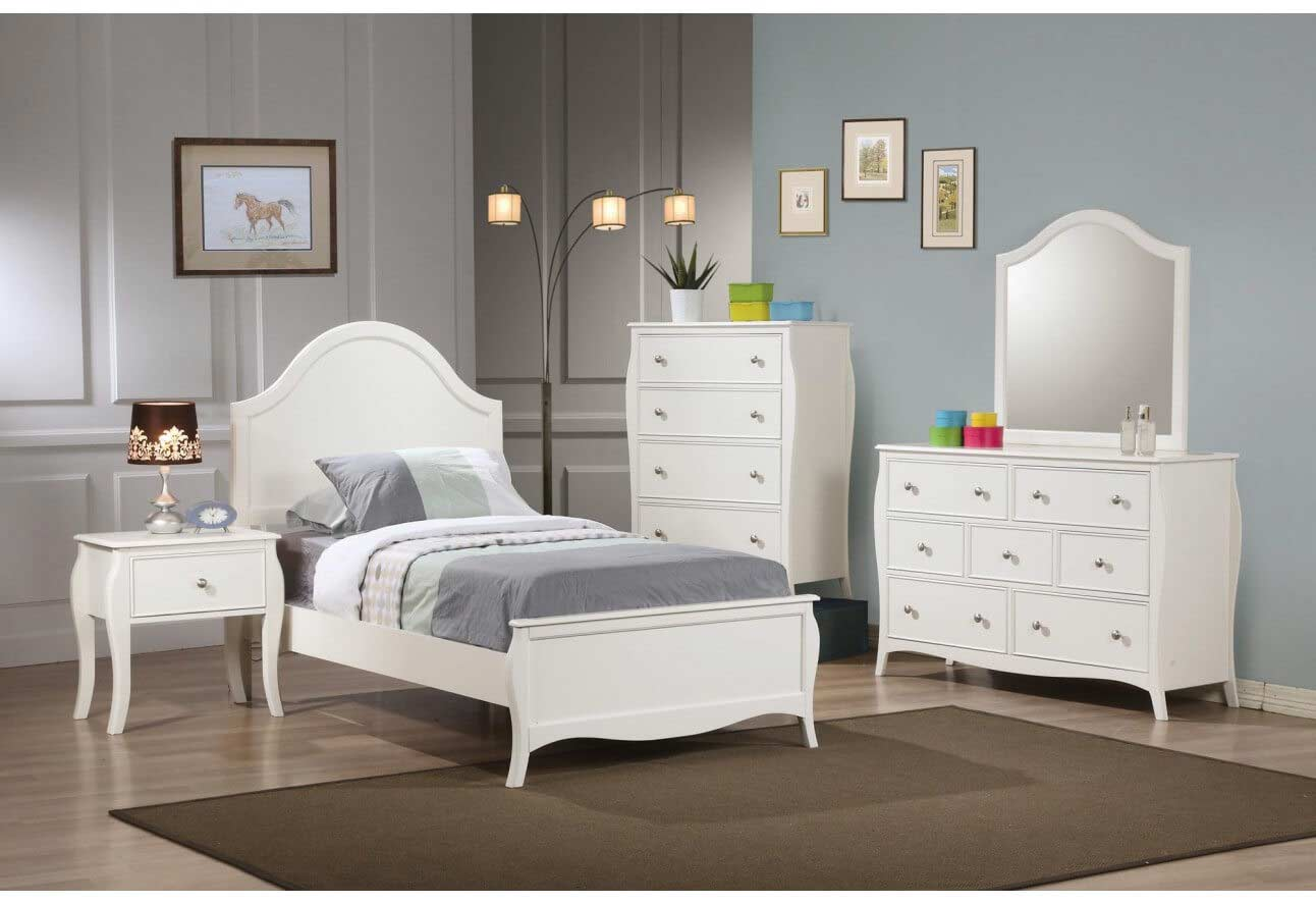 nicollete collection round panel bed  kids furniture in