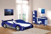 Blue Race Car Collection