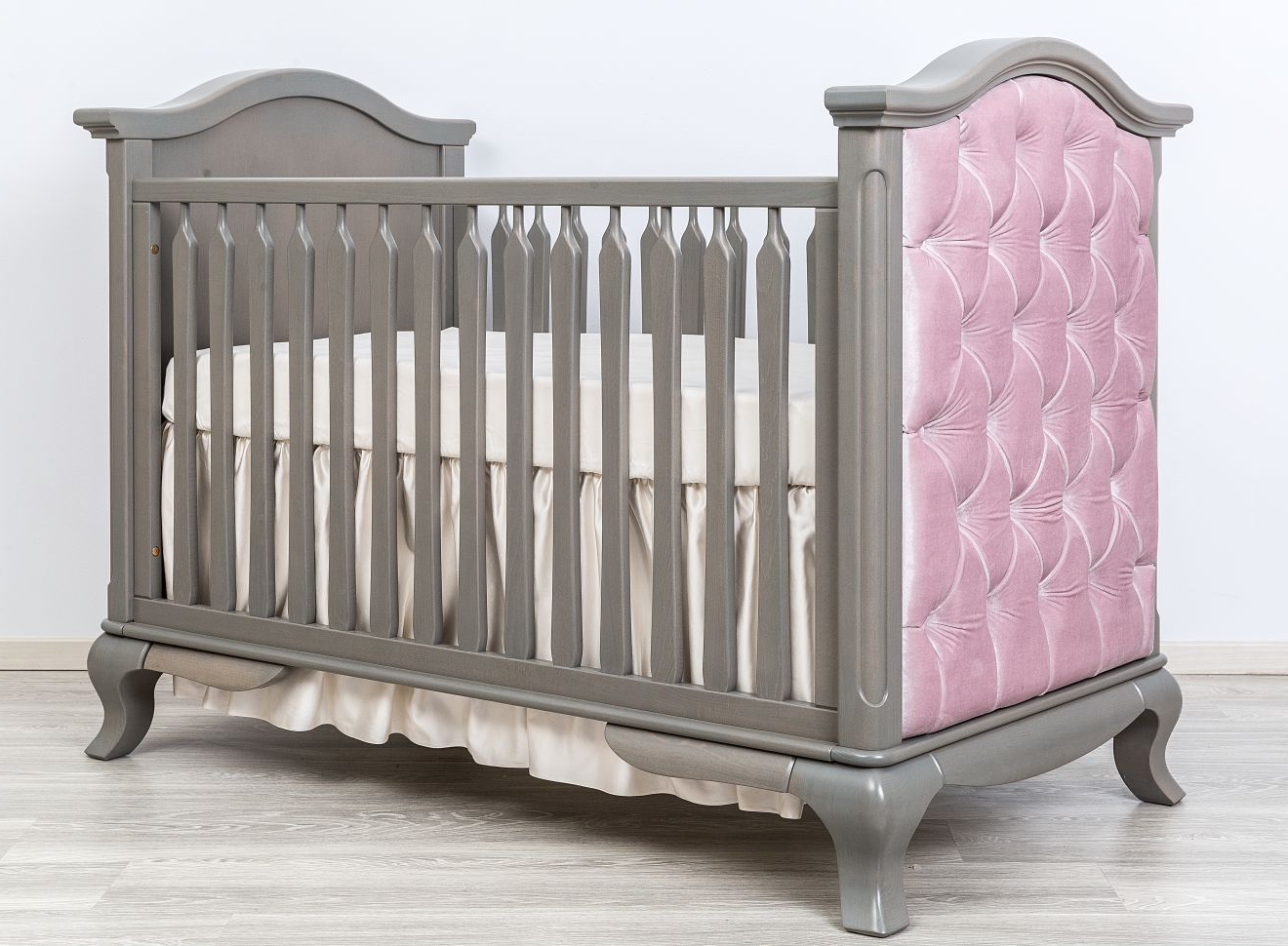 kids angeles tufted classic cribs los cleopatra product antonio romina crib in furniture