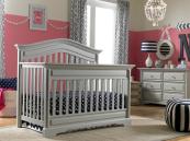 Dolce Babi Venezia Crib in Misty Grey