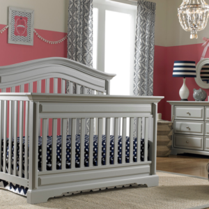 Dolce Babi Venezia Crib in Misty Grey