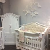 Mill Custom Tufted Crib