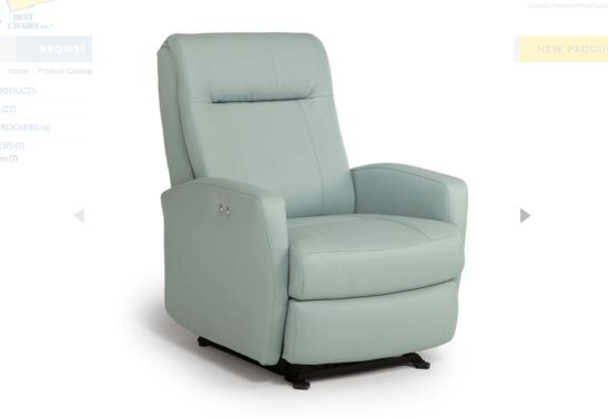 costilla swivel glider recliner