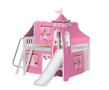 maxtirx mid loft with full tower tent in pink
