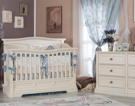 romina imperio solid panel convertible crib