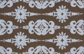 damask baby blue kids rug
