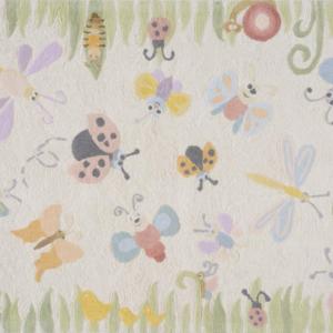 springtime multi kids rug