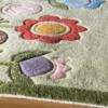 modern garden grass kids rug