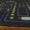 arcade black kids rug