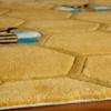 honeycomb kids rug