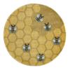 honeycomb round kids rug