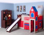 fire house loft bed