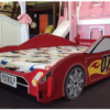 red racecar twin size car bed