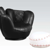 baseball glove kids chair