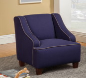 royal blue kids chair