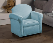 baby blue kids chair