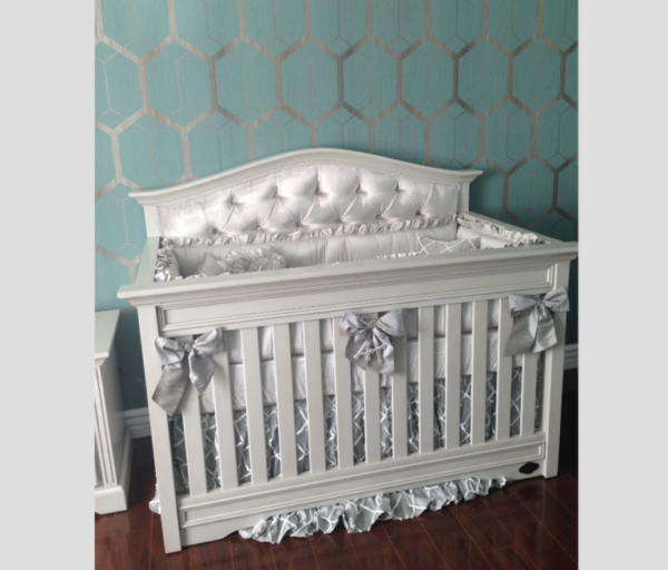Venice Custom Tufted Convertible Crib