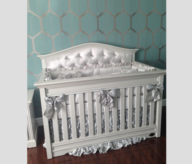 Gliders For Sale >> Venice Custom Tufted Convertible Crib - Kids Furniture In ...