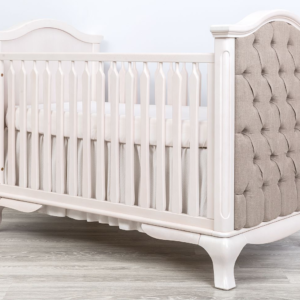 anotonio classic crib with tufted sides