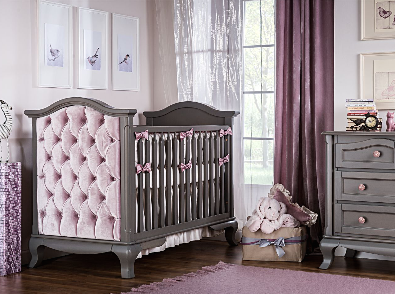 baby convertible crib vintage makeover furniture romina l wood brown sweet gently cribs used