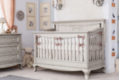 antonio convertible crib in rustic finish by romina