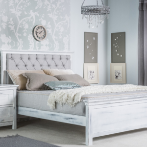 karisma full size tufted bed by romina furniture