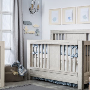 romina ventiani convertible crib in rustic finish