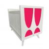 skylar crib pink