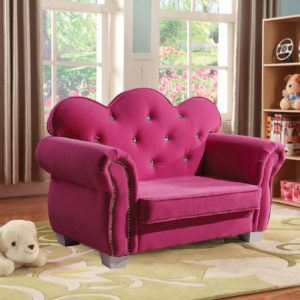 seline kids loveseat chair