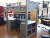 Twin Whichester Workstation Loft Bed