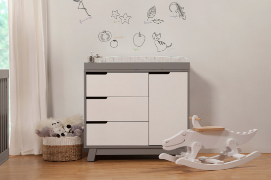 Babyletto Hudson Changer Dresser two tone