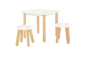 Kaleidoscope playset table and chairs
