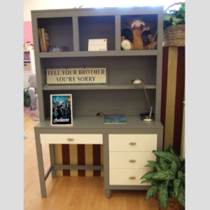 Milano Collection Student Desk with Hutch