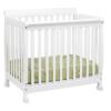 kalani mini crib in white