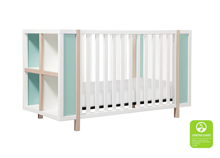 kids bed side view. Babyletto Bingo Crib Side View Kids Bed S