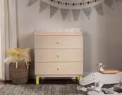 babyletto gelato 3 drawer dresser changer