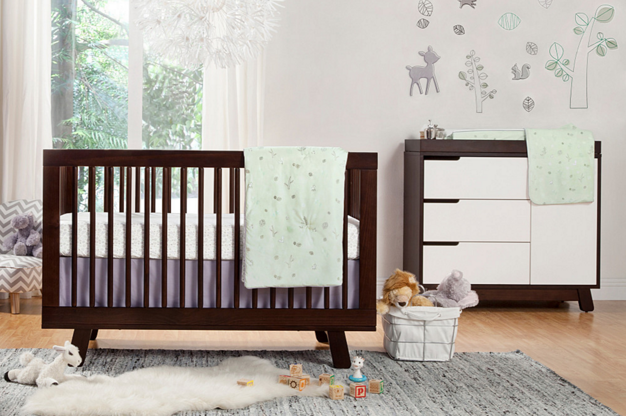 babyletto hudson  in  convertible crib  kids furniture in los  - babyletto hudson crib in espresso