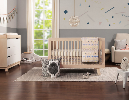 babyletto hudson crib in natural