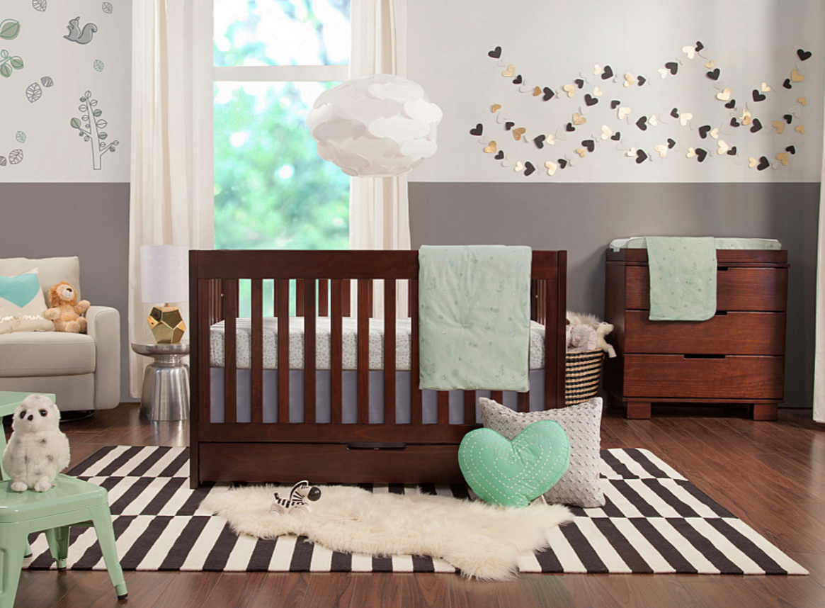 babyletto mercer  in  convertible crib  kids furniture in los  - babyletto mercer collection in espresso