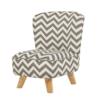 Pop Mini Chair Grey Chevron