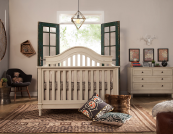 franklin & ben amelia 4 in 1 convertible crib front