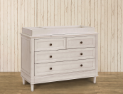 franklin & ben amelia double wide dresser changer top
