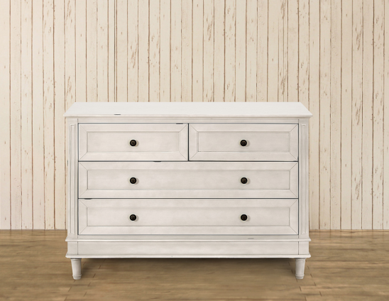 franklin & ben amelia double wide dresser front